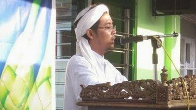 Hình ảnh của kẻ chủ mưu của các cuộc tấn công tại Jakarta (Indonesia) Bahrun Naim (ảnh chụp từ tháng 8/2013) (Ảnh: BBC)