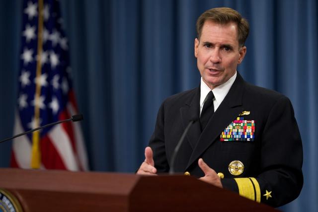 Người phát ngôn Bộ Ngoại giao Mỹ John Kirby. (Nguồn ảnh: www.defense.gov)