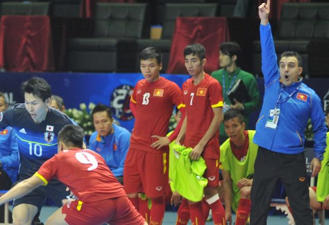ĐT futsal Việt Nam đã có một trận đấu thăng hoa trước ĐKVĐ Nhật Bản