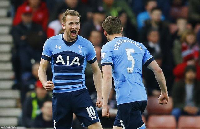 Cầu thủ dẫn đầu danh sách vua phá lưới Harry Kane không thể thiếu.