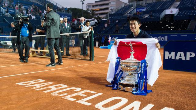 Kei Nishikori đang là đương kim vô địch của Barcelona Open