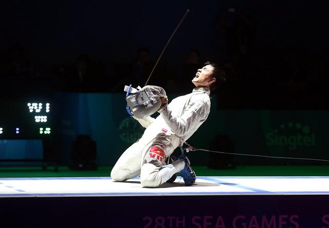 Vũ Thành An sẽ là VĐV có vinh dự cầm ở cho đoàn thể thao Việt Nam tại Olympic 2016 (Ảnh: webthethao)