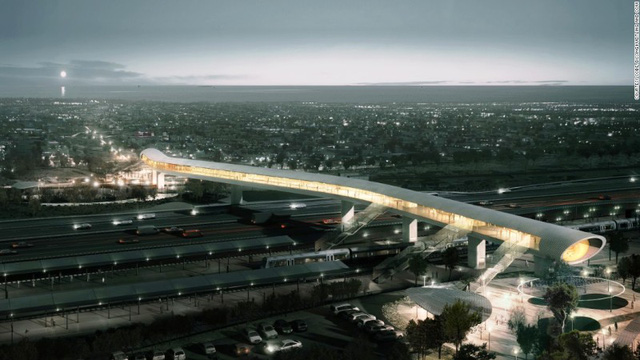 5. Koge North Station, Đan Mạch, dự kiến hoàn thành năm 2018.