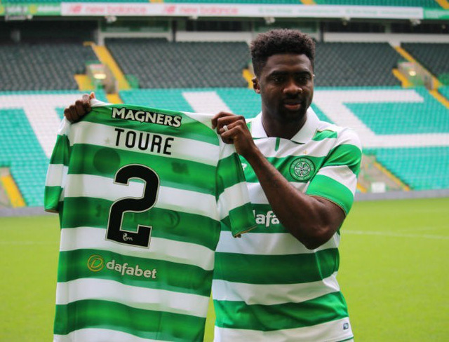 Toure đã chính thức gia nhập Celtic.