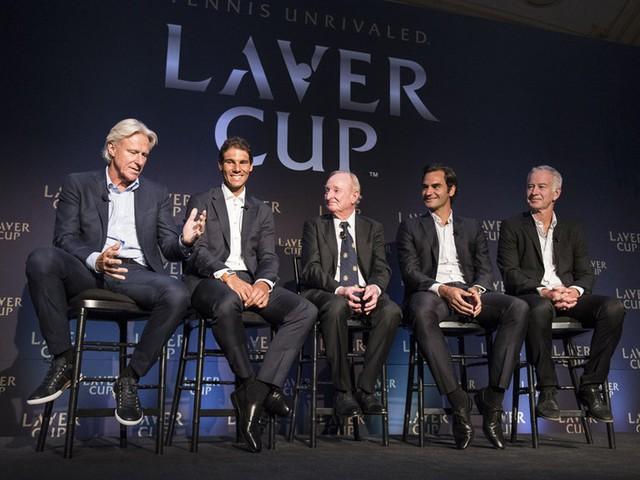 Laver Cup là giải đấu được tổ chức nhằm tôn vinh huyền thoại Rod Laver