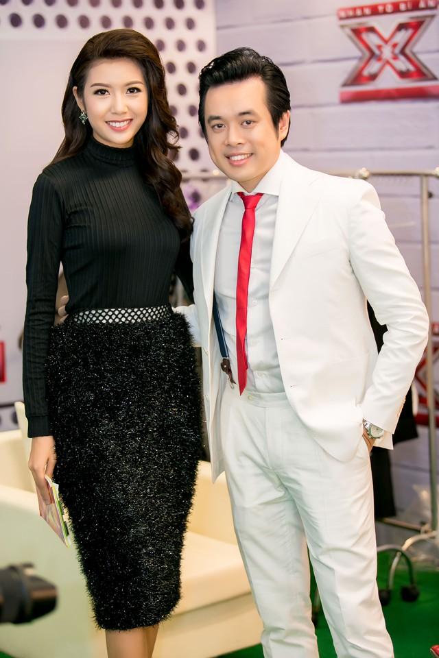 Thúy Vân và giám khảo Dương Khắc Linh