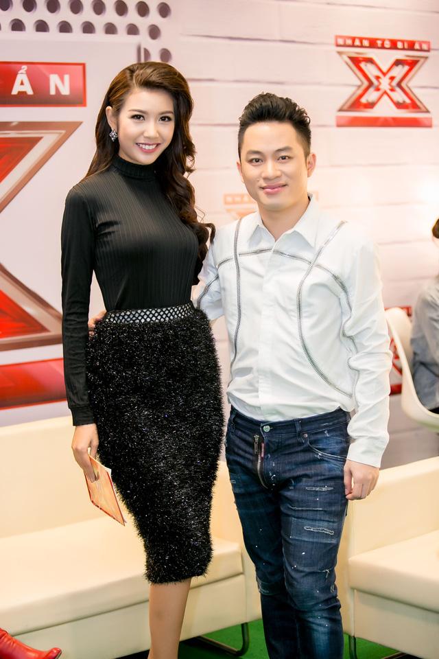 Thúy Vân và giám khảo Tùng Dương