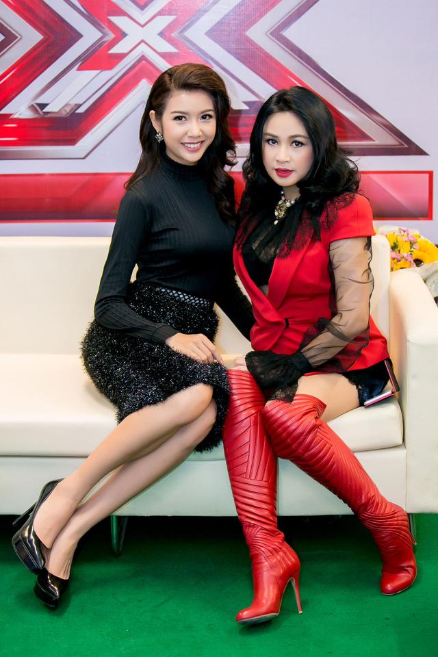 Thúy Vân và giám khảo Thanh Lam