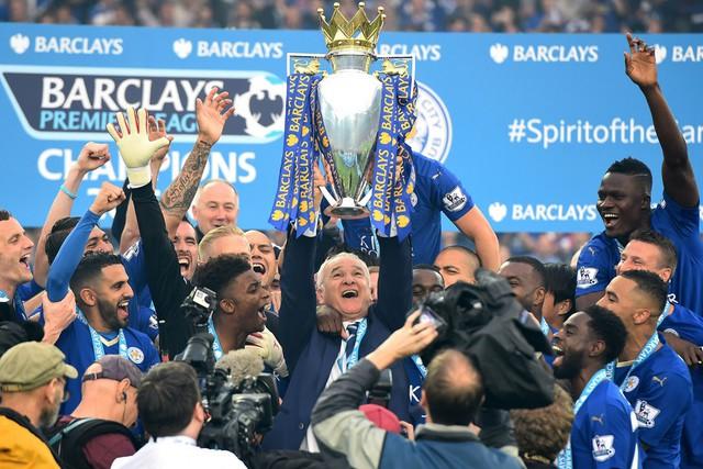 Nhà vô địch đầy bất ngờ của Ngoại hạng Anh Leicester City cũng có tổng giá trị lên tới 109 triệu Bảng