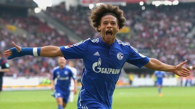 Cầu thủ chạy cánh Leroy Sane (Schalke 04)