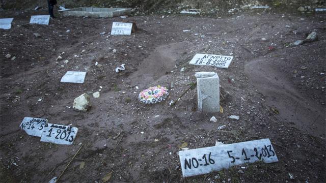 Một góc của nghĩa trang (Ảnh: Jodi Hilton/pri.org)