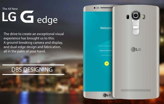 Concept LG G5 màn hình cong của DBS Designing