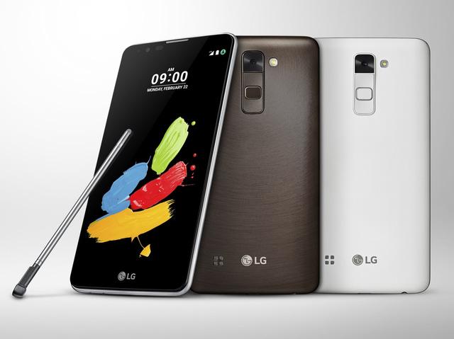 LG Stylus 2 sở hữu 3 biến thể màu sắc khác nhau