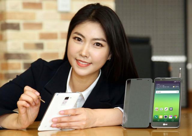 Hình ảnh quảng cáo của LG Stylus 2
