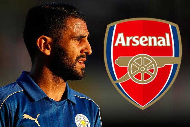 Riyad Mahrez là cái tên được rất nhiều NHM Arsenal đặt kì vọng