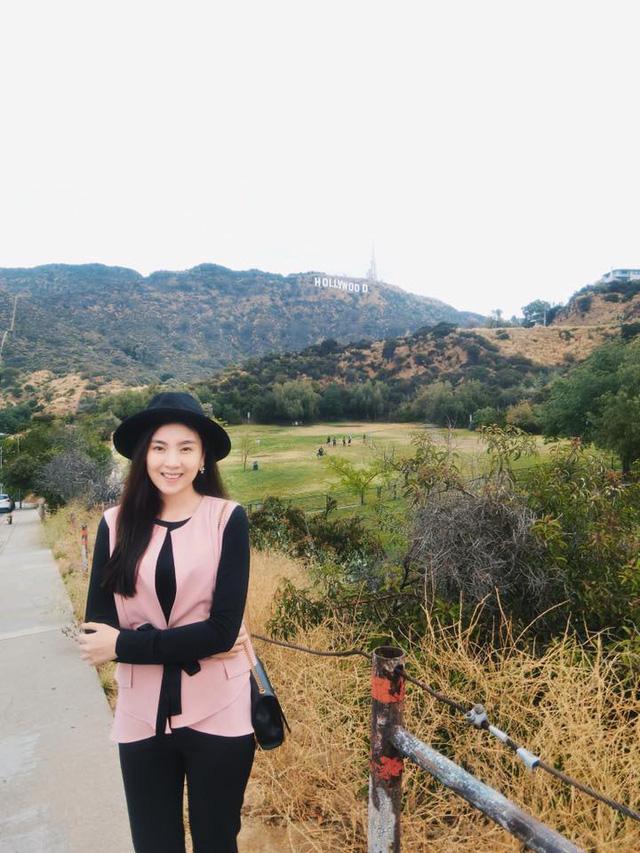 Chuyến du lịch dài ngày lần này của Mai Ngọc đi qua nhiều bang lớn của Mỹ như Los Angeles, Las Vegas, Chicago, New York.