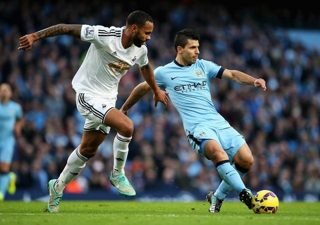 Swansea có đủ động lực để cản bước Man City trong cuộc đua top 4?