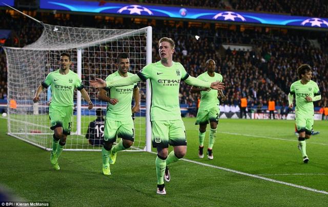 Man City đã có màn trình diễn ấn tượng tại Champions League cách đây ít ngày