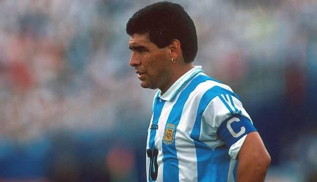 Việc sử dụng chất kích thích đã khiến sự nghiệp của Diego Maradona tuột dốc
