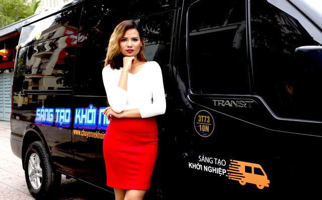 Và người mẫu Tiêu Ngọc Linh sẽ dẫn dắt chương trình