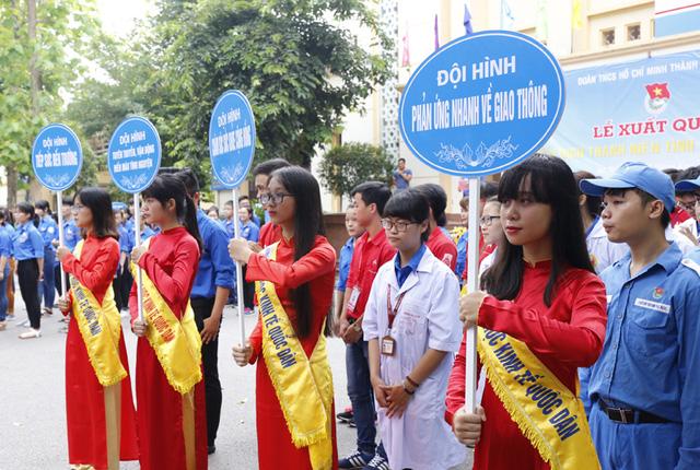 12 đội hình tình nguyện của Chiến dịch Thanh niên tình nguyện Hè sẽ góp phần tham gia các hoạt động kinh tế - xã hội, an sinh...
