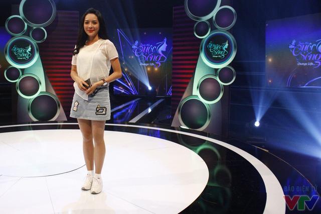 Hình ảnh của Thanh Quỳnh trong buổi ghi hình Change Life - Thay đổi cuộc sống mùa hai.