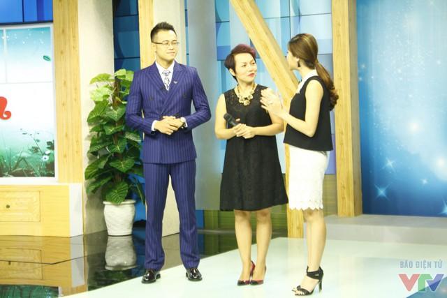 MC Đức Bảo và Mai Trang và ca sĩ Thái Thùy Linh.