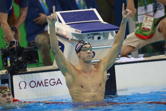 Phelps vẫn không có đối thủ ở đường đua xanh