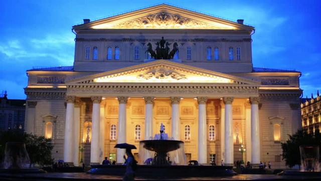 Nhà hát lớn ở Moscow, Nga. Ảnh: Shutterstock
