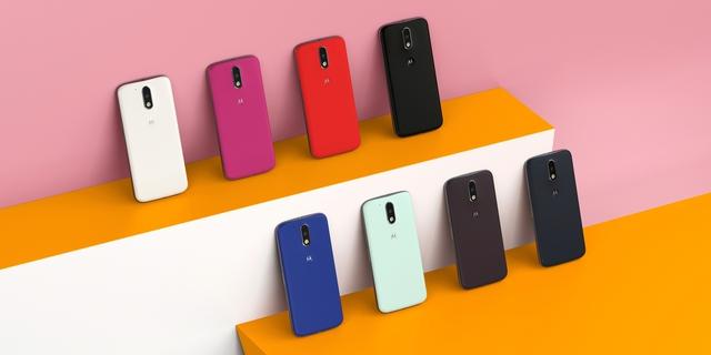 Moto G4 và Moto G4 Plus sở hữu thiết kế trẻ trung hiện đại với 8 phiên bản màu sắc bắt mắt