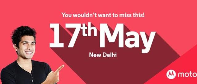 Motorola sẽ tổ chức sự kiện ra mắt sản phẩm mới tại New Delhi ngày 17/5