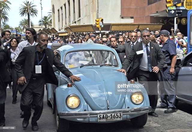 Chiếc xe cựu Tổng thống Uruguay Mujica thường xuyên sử dụng.