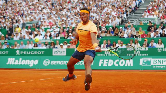 Sang set 3, Nadal đã làm chủ hoàn toàn thế trận.
