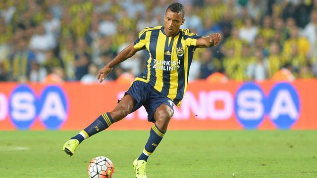 Luis Nani vừa trải qua một mùa giải thành công trong màu áo Fenerbahce