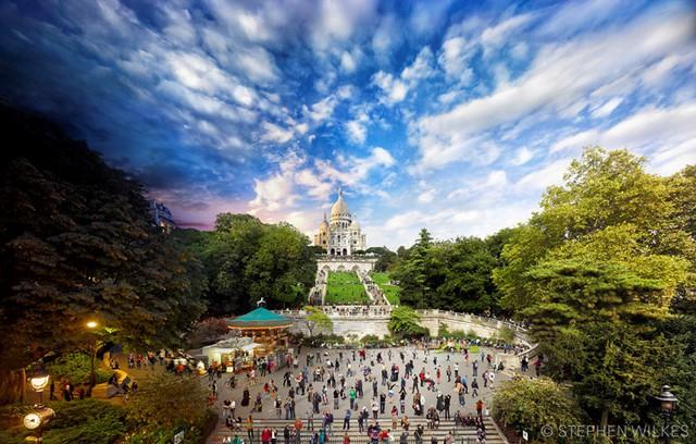 Sacre Coeur, Paris (Ảnh: Stephen Wilkes)