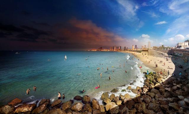 Tel Aviv, Israel (Ảnh: Stephen Wilkes)