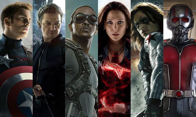 Những siêu anh hùng về phe của Captain America (Ảnh: Movieweb.com)