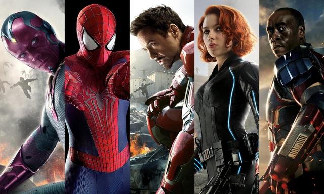 Những siêu anh hùng về phe Iron Man (Ảnh: Movieweb.com)
