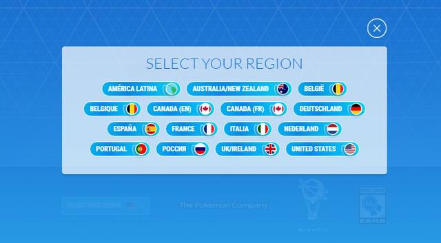 Những quốc gia được phát hành Pokémon GO?