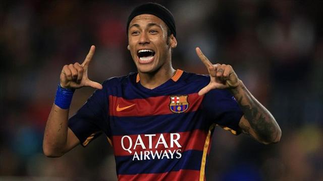 Neymar mới gia hạn hợp đồng với Barcelona