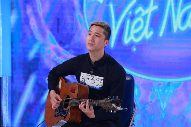 Một thí sinh ở vòng thử giọng Vietnam Idol 2016
