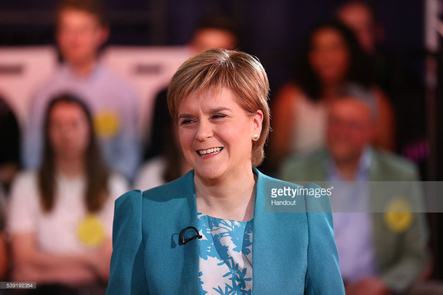 Lãnh đạo Đảng Quốc gia Scotland Nicola Sturgeon
