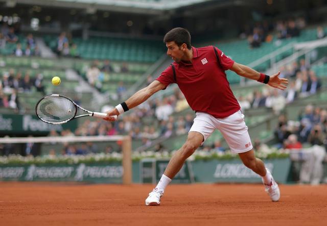 Novak Djokovic tiếp tục thể hiện đẳng cấp của tay vợt số 1 thế giới