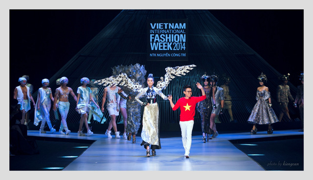 NTK Công Trí tại Tuần lễ thời trang quốc tế Việt Nam 2014