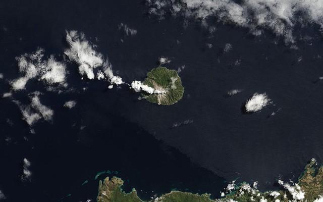 Núi lửa Paluweh ở Indonesia