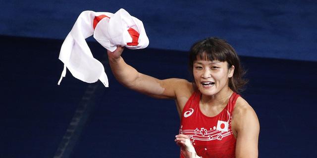 VĐV Kaori Icho đã giành chiến thắng ấn tượng ở hạng cân 48 kg.