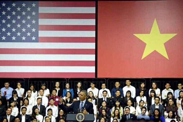 Tổng thống Obama có buổi diễn thuyết tại TP.HCM