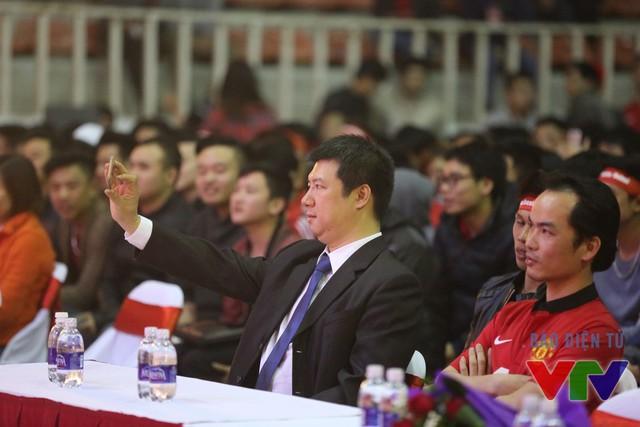 BLV Quang Huy là khách mời đặc biệt của sự kiện do Hội CĐV Man Utd tại Việt Nam (MUSVN) tổ chức