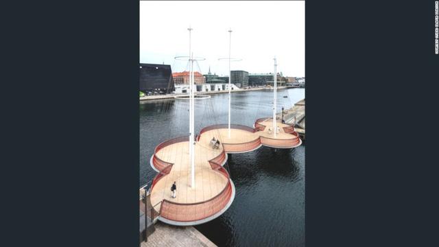 8. Cirkelbroen, Đan Mạch, đã hoàn thành năm 2015.
