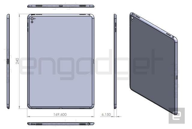 Hình ảnh phác thảo iPad Air 3